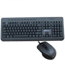 达尔优MK109多媒体键鼠套件 ps/2防水键盘  USB有线鼠标  低价销售  正品