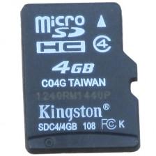 金士顿(Kingston)4GB 存储卡 手机内存卡