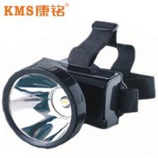 KMS康铭头灯LED充电式铅酸头灯 500米  野外必备版