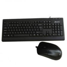 达尔优MK-106办公套装P+U 鼠键套装  家用鼠键套装 电脑键盘