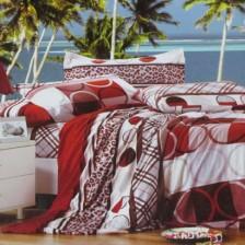 活性天丝绒四件套200*230cm 被套 床单 枕套 床上用品 纯棉四件套