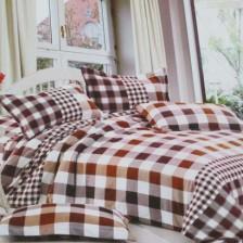 舒香棉简约风尚四件套 床上用品全棉斜纹印花四件套