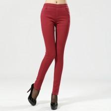 2013新款休闲裤/冬装弹力棉高密斜复合绒加厚打底裤 热卖中 包邮