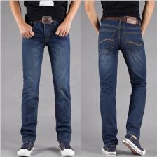 正品李牌LEE男式牛仔裤男裤 韩版直筒修身牛仔长裤  正品 包邮