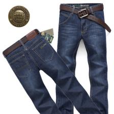 商务休闲牛仔裤 男式JEEP吉普正品牛仔裤   正品 包邮