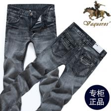韩版男式修身直筒牛仔裤 男裤 男装牛仔长裤  修身直筒牛仔裤  包邮