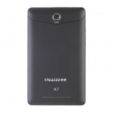 创想X7高清双核通话3G双卡双待手机GPS7寸8GB超薄时尚平板电脑  包邮