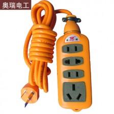 奥瑞 多插口排插 3米线 337  电脑 电磁炉 电暖气多用型排插