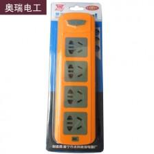 奥瑞 多插口排插 343 无线 电脑 电磁炉 电暖气多用型排插