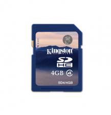 金士顿 SD 4G相机内存卡 4gsd卡 4G储存卡 正品