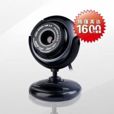 双飞燕PK-710G 高清摄像头 免驱电脑摄像头 1600万像素 内置麦克风 官方正品