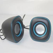 小Q蛋音响 USB小音箱 电脑小对箱 2.0小音响厂家批发迷你音箱 包邮