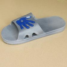 新款拖鞋男浴室洗澡防滑拖鞋可爱手式版男拖鞋厚底PVC拖鞋 夏