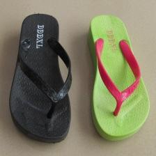 2015夏季爆款女人字拖厚底坡跟人字拖防水防滑时尚沙滩人字拖鞋